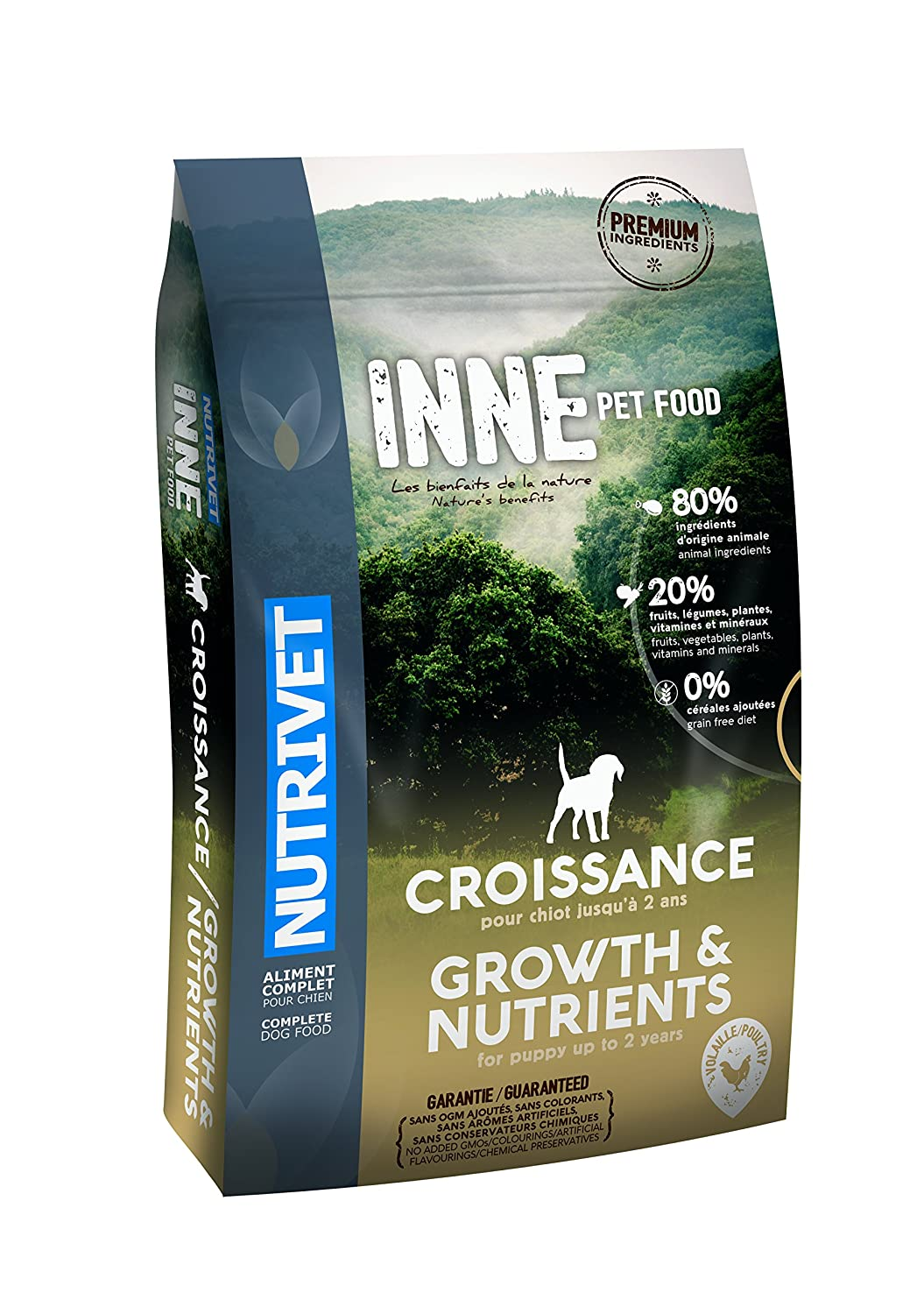 12 kg Nutrivet Inne from 2 Month Puppy Growth 12 kg Bag