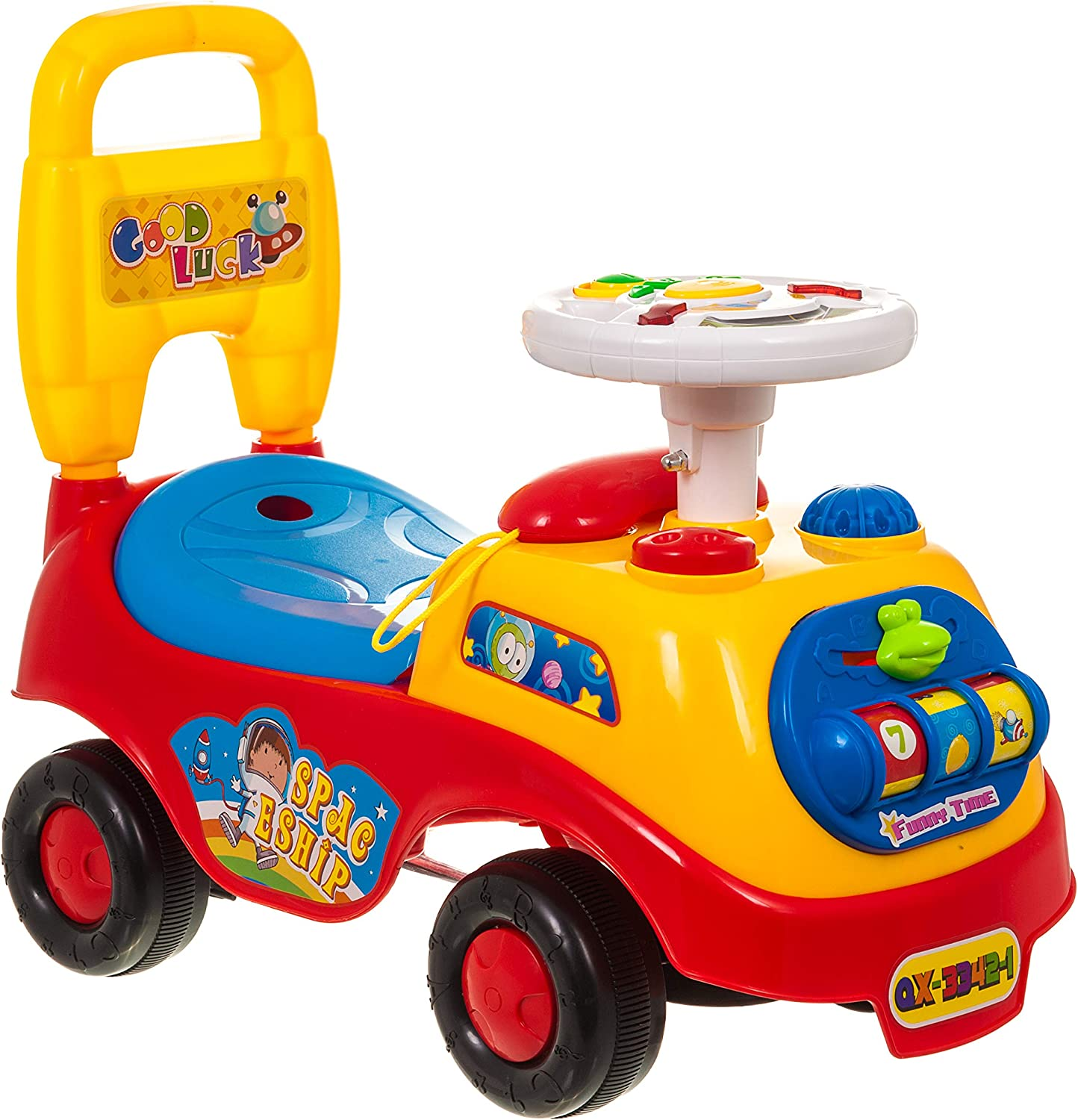 MY RIDE FiNeWaY@ MY First Ride ON Kids Toy Cars Boys Girls Push ...