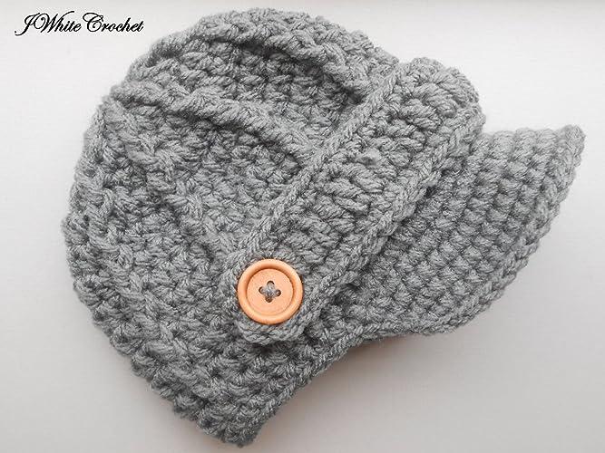 15f8bbddec5 Amazon.com  Dark Grey Newborn baby hat