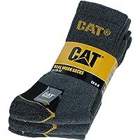 3 Pares Calcetines CAT CATPERILLAR de trabajo para hombres reforzados en el talón y la punta, excelente calidad de…