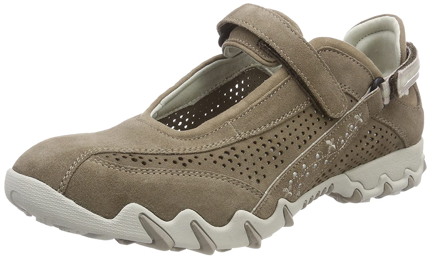 Allrounder by Mephisto P2003563, Scarpe outdoor multisport Donna  Beige (Taupe)
