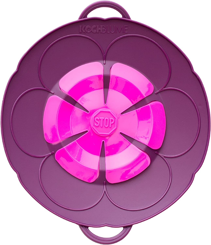 Silicone Purple Kochblume Lid Flower XS 22/cm