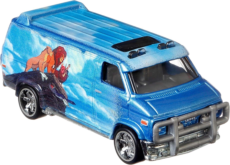 Hot Wheels Pop Culture Collection The Lion King Custom GMC Panel Van