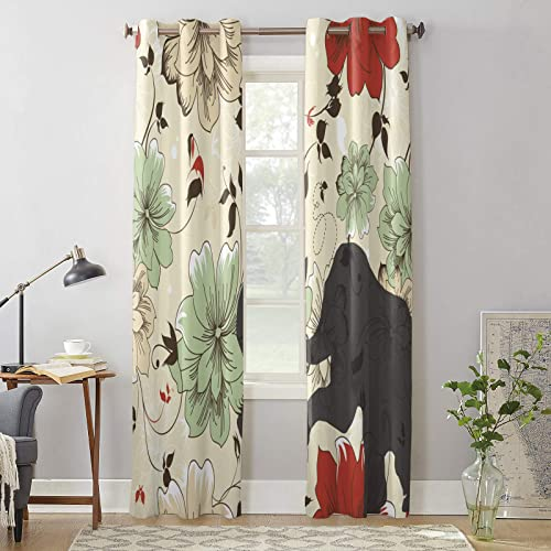 BABE MAPS Thermal Insulated Curtains