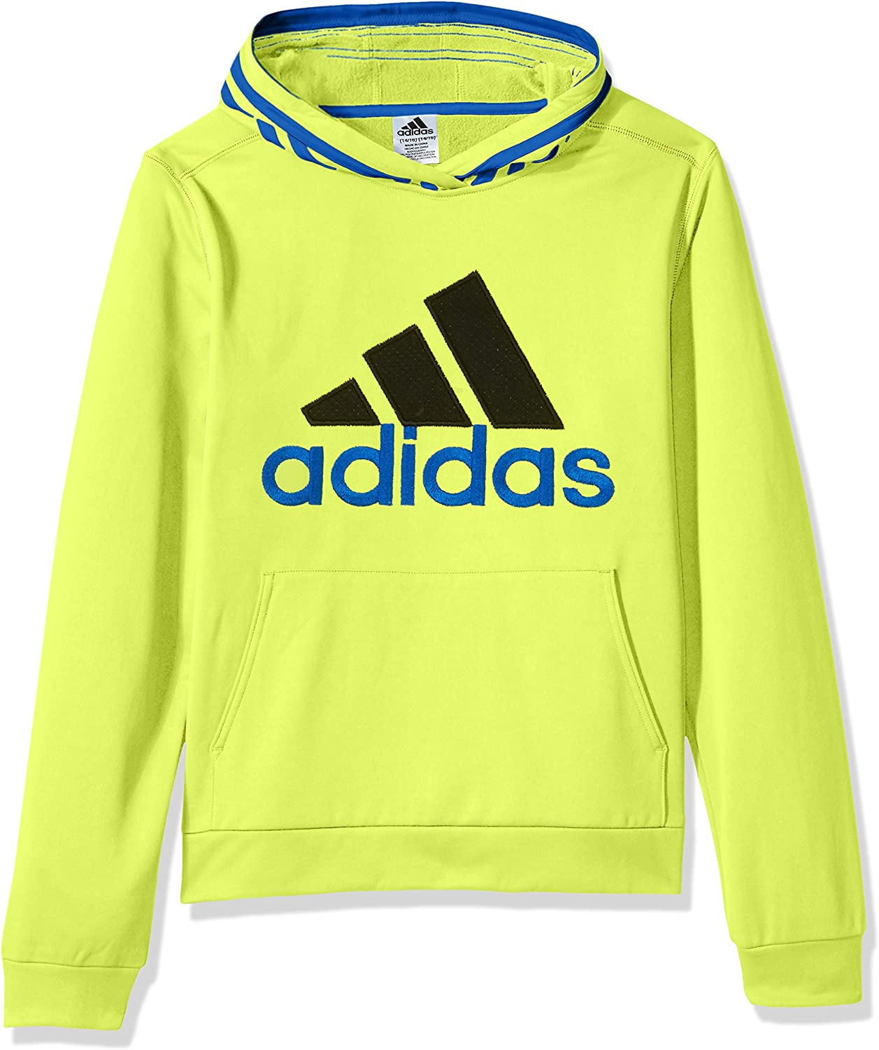 adidas Boys' Active Sport Athletic Pullover Hooded Sweatshirt