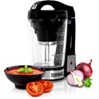 Duronic BL Automatic Multifunctional Smooth/Chunky Soup Maker Machine/Smoothie / Blender/Steamer / Boiler with 1.75L Glass Jug
