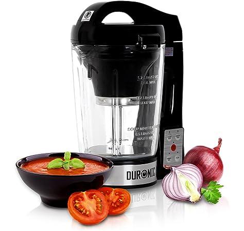 Duronic BL78 (Reacondicionado) Batidora de Vaso con Función para Sopas Máquina para Sopas y Cremas con Vaso de Cristal Termoresistente de 1,2 L Robot de Cocina Sopas, Cremas, Salsas, Batidos: Amazon.es: Hogar