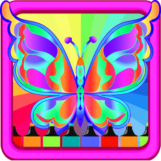 Butterfly Coloring Pages for-Kids for $<!--$0.00-->