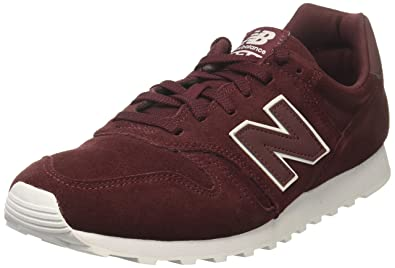 New Balance ML373BN, Baskets Basses Homme, Rouge (Burgundy/Silver), 46.5 EU
