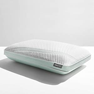Tempur-Pedic TEMPUR-Adapt ProHi + Cooling-Queen Pillow, White