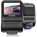TOGUARD Upgraded Dash Cam 4K 3840x2160P GPS Dashboard Dash Camera for Cars 2 inch 170° Wide Angle Vehicle Driving Recorder wi