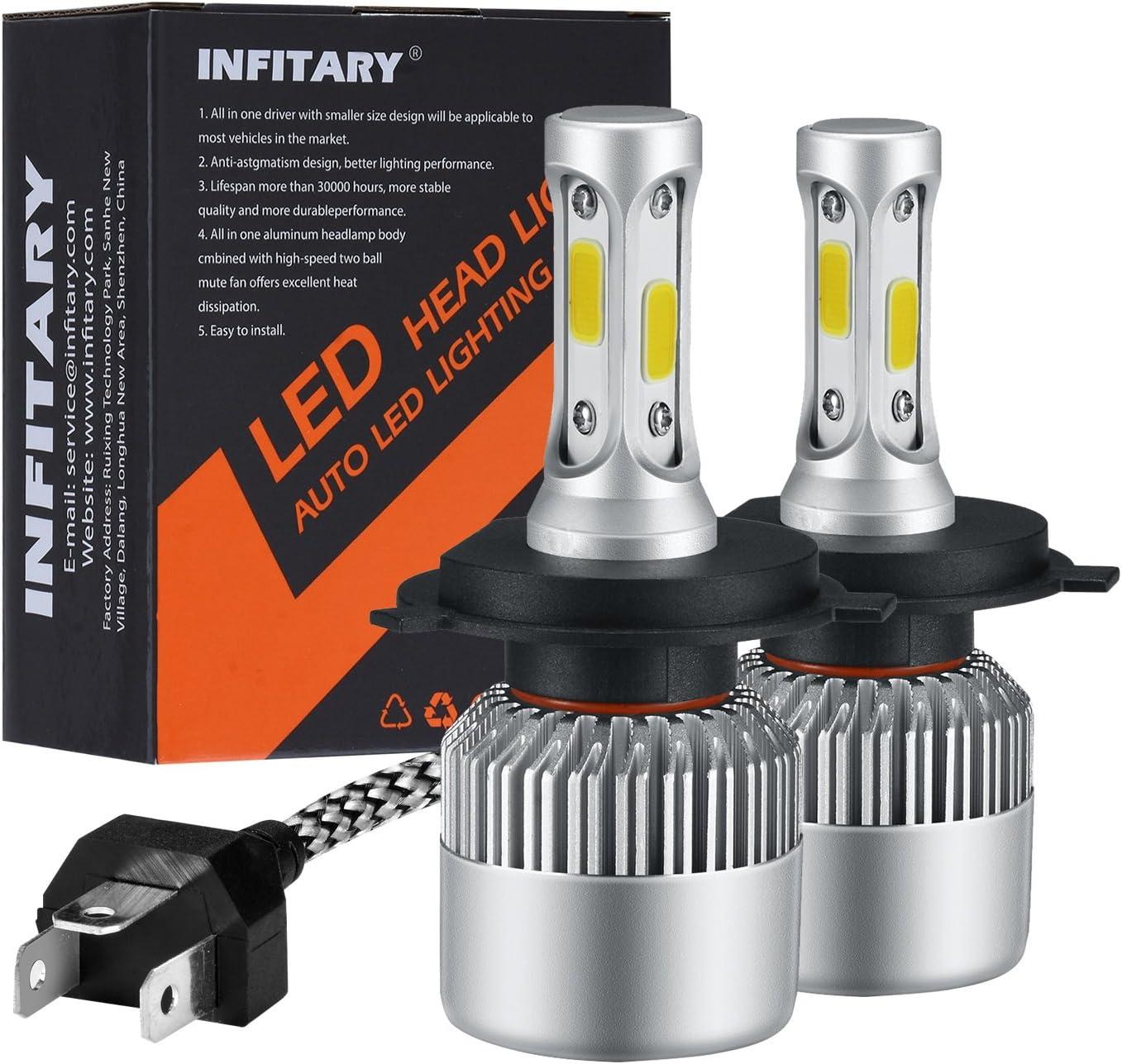 INFITARY H4 LED Headlight Bulbs