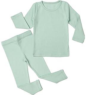 Newborn Baby Pajama Set 3M-5T Kids Boys Cute Toddler Clothing Cotton Sleepwear (Mint