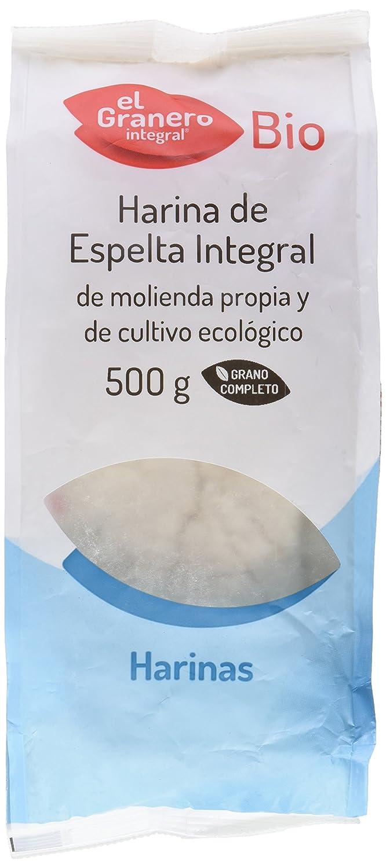 HARINA ESPELTA INTEGRAL BIO 500 gr: Amazon.es: Alimentación ...