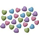 Curious Minds Busy Bags 24 Mini Conversation Heart Stress Balls - Unique Valentines Day Cards for Kids - Novelty Party Favor - 2 Dozen Bulk