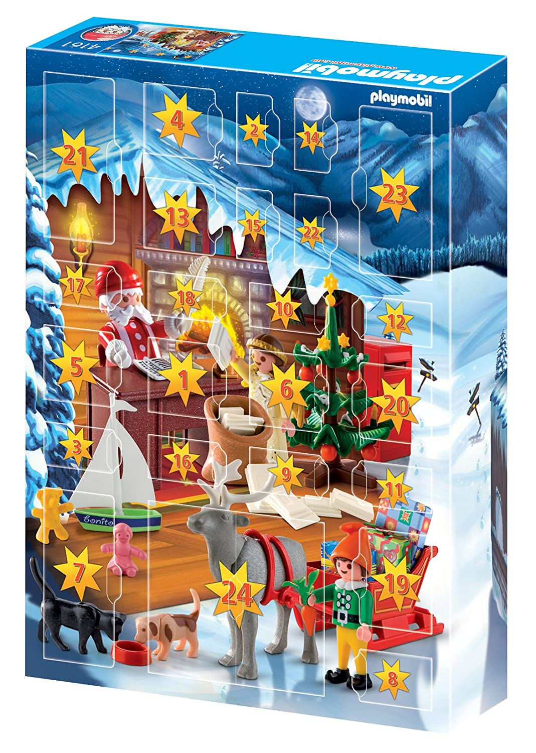 Playmobil advent calendar christmas post office set for Playmobil post