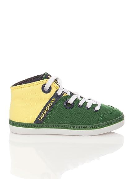 Havaianas Zapatillas Urbis II Mid Kids Amarillo 29: Amazon.es: Zapatos y complementos