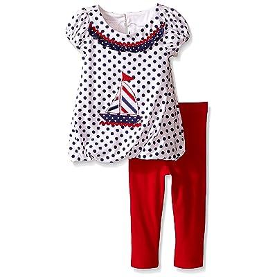 Bonnie Baby Baby Sailboat Knit Playwear Set White 18 Months