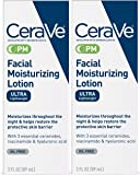 CeraVe Facial Moisturizing Lotion PM Ultra Lightweight 3 Fl oz (Pack of 2)