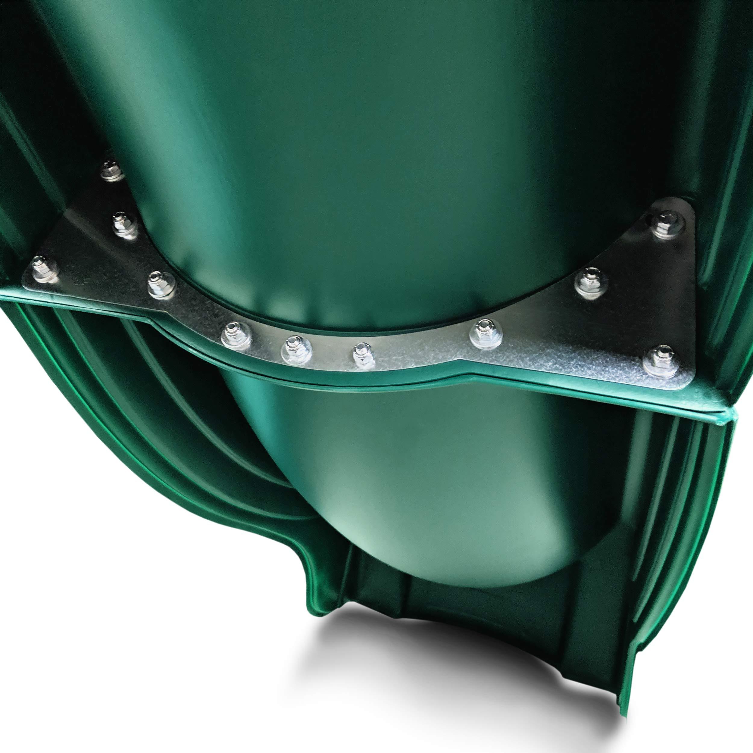 Swing-N-Slide WS 5033 Olympus Wave Slide Plastic Slide for 5' Decks, Green by Swing-N-Slide (Image #5)
