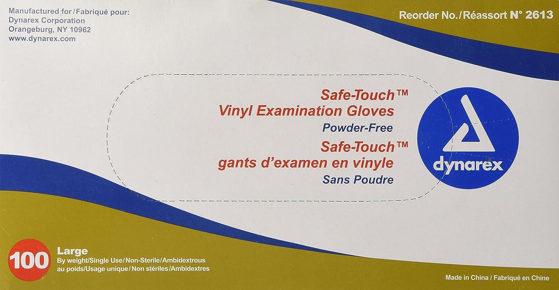 Amazon.com: Synthetic Vinyl Powder Free Glove: Home & Kitchen