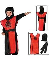 Child's Ninja Costume Kit (3 Pcs. Per Set) Polyester.