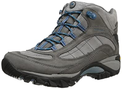 Merrell Womens Siren Waterproof Mid Hiking BootCastle Rock Blue5