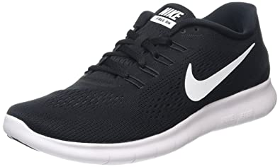 nike running shoes black and white