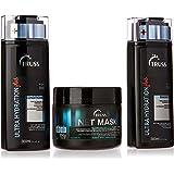 Kit Truss Ultra Hydration Plus Shampoo 300ml + Condicionador 300ml + Net Mask 550g