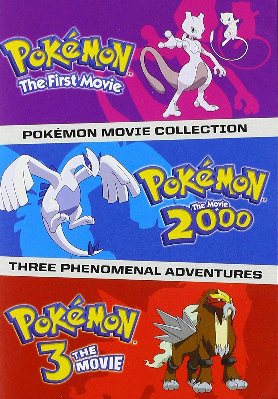 Amazon Com Pokemon Movies 1 3 Standard Edition Dvd Various