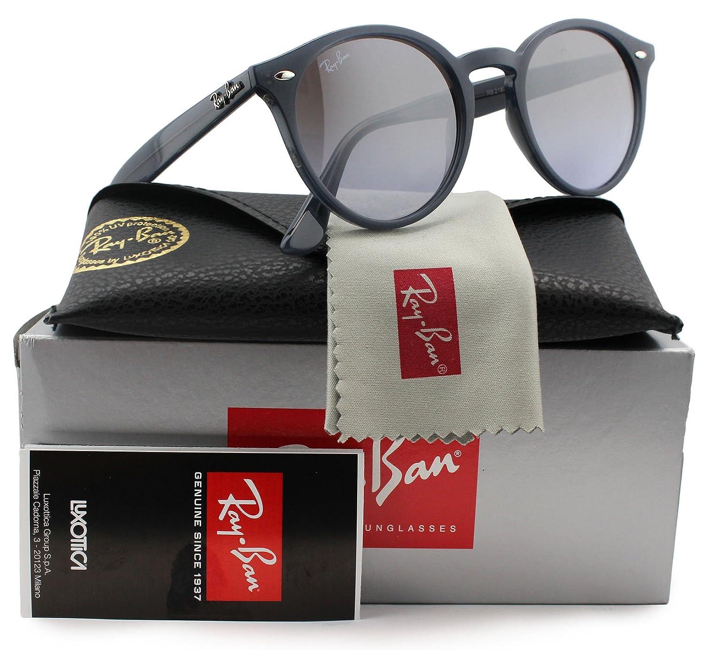 108b63fa46 Amazon.com  Ray-Ban RB2180 Sunglasses Opal Grey w Violet Mirror (6230 94) 2180  623094 49mm Authentic  Clothing
