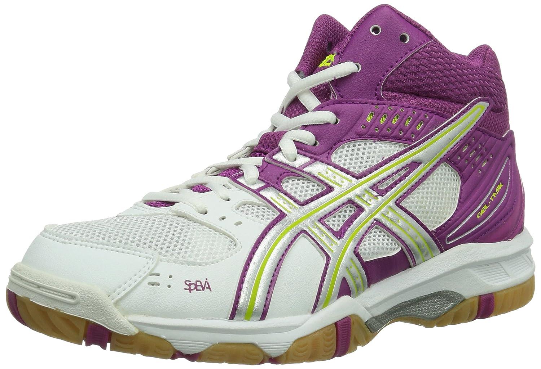 Blanc (blanc argent Fuchsia 0193) ASICS Gel-Task MT, MT, Chaussures de Volleyball Femme  jusqu'à 70% de réduction