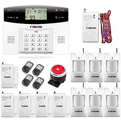 Fuers – G2 alarma casa GSM PSTN llamada sirena anti-robo francés Systeme, alarma