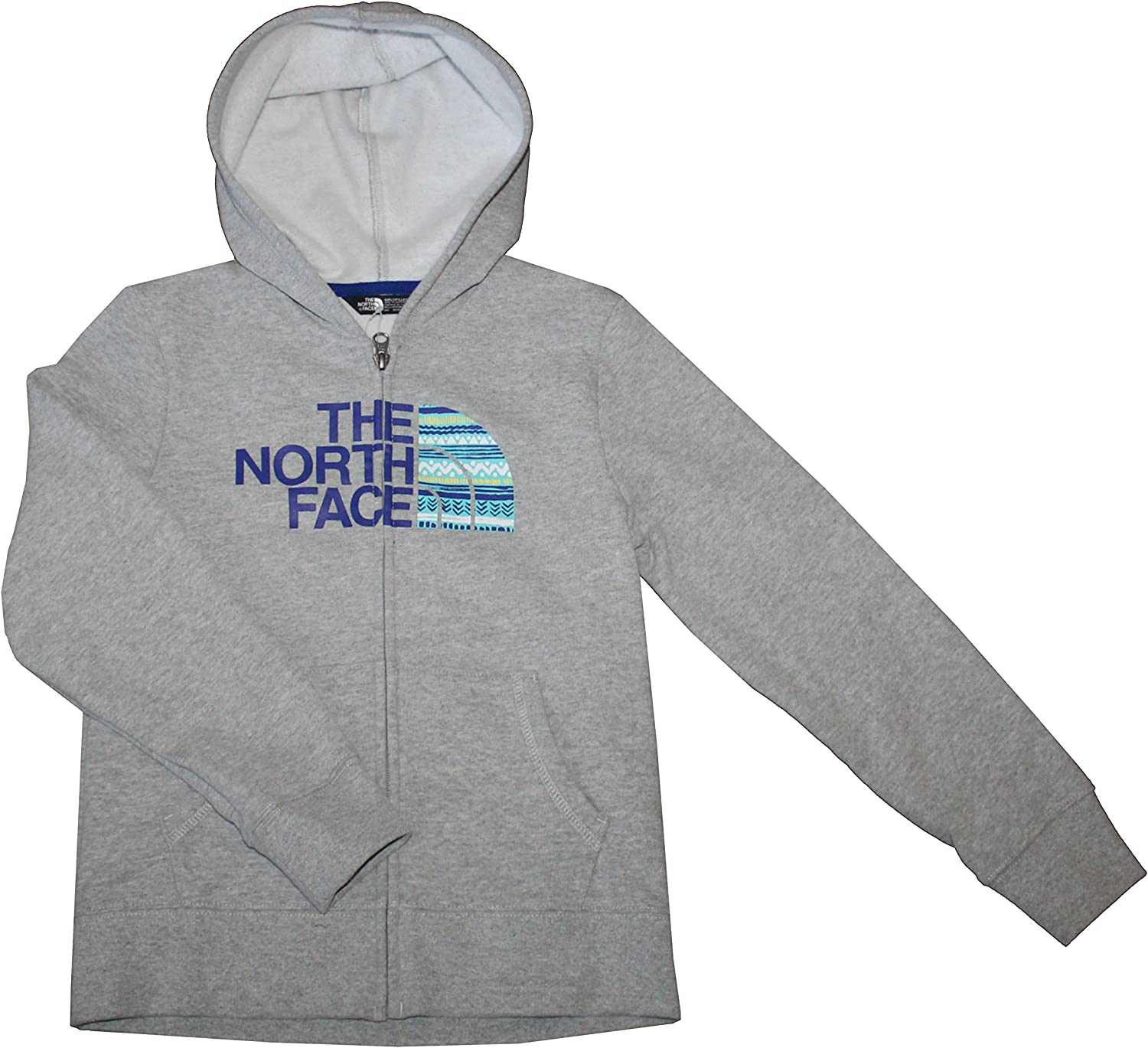 The North Face Logowear Youth Girls Full Zip Hoodie