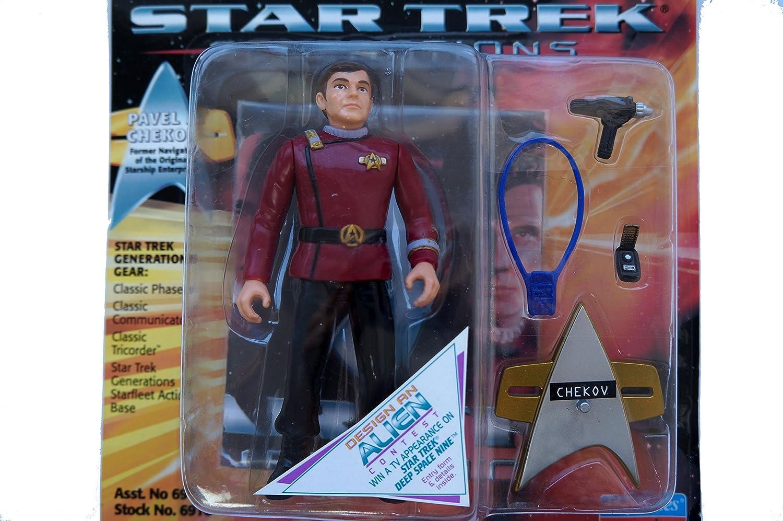 Chekov Playmates 6910 Star Trek Generations