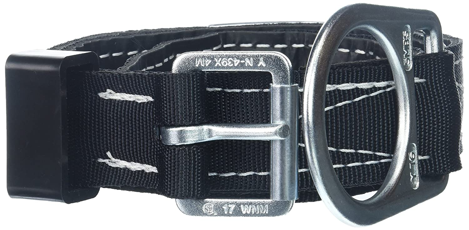 X-Large Miller by Honeywell 123N//XLBK Single D-Ring Lined Body Belt with 1-3//4-Inch Webbing Black Honeywell Safety Products USA