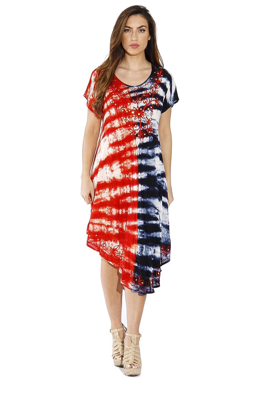 Riviera Sun Plus Size Summer Dresses Swimsuit Cover Up Resort Wear