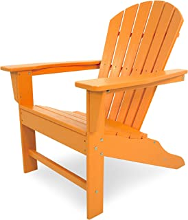 product image for Polywood SBA15TA South Beach, Tangerine Adirondack Chair