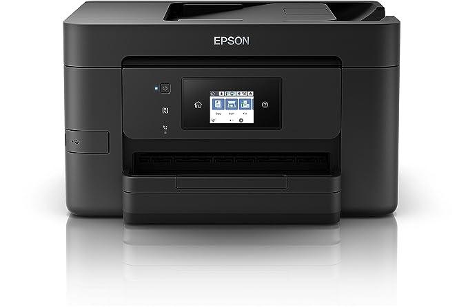 Epson Workforce WF 3720 DWF - Impresora Multifunción Color (Inyección de tinta, 4800 x 2400 ppp)