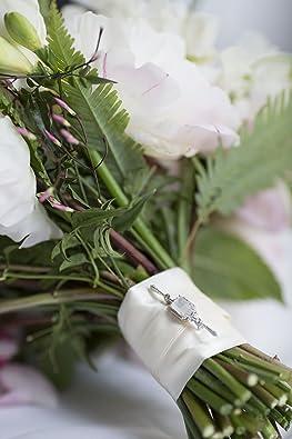 Amazon.com: Con usted lockets-sterling silver-topaz-custom ...
