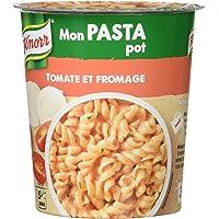 Knorr Pâtes Déshydratées Mon Pasta Pot Tomate et Fromage 65 g - Lot de 4