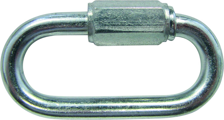 HSI 370050 - Cadena de eslabones de emergencia con rosca de hierro galvanizado 5 mm, 1 unidad