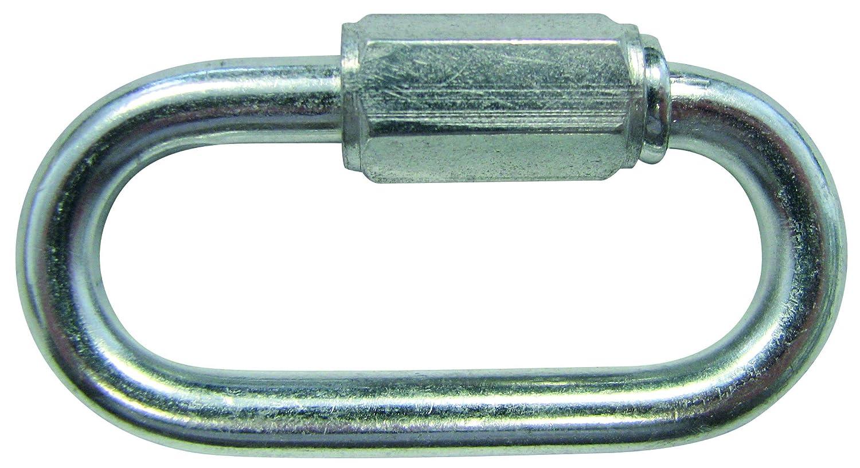 HSI Ketten-Notglieder mit Schraubverschluß Eisen verzinkt 5 mm, 1 Stück, 370050.0