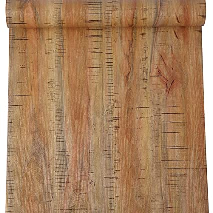 Blooming Wall Peel Stick Wood Panel Prepasted Wallpaper Wallcoverings For Wall 23 6in X 19 7ft Hhm 01