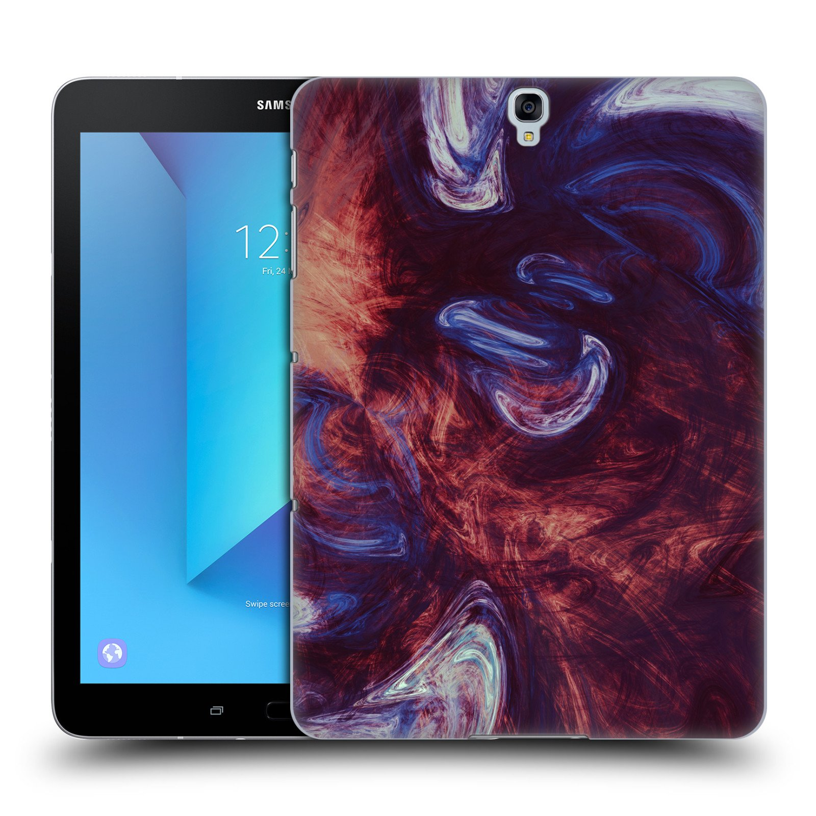 Official Andi GreyScale Flying Souls Solar Flames Hard Back Case for Samsung Galaxy Tab S3 9.7