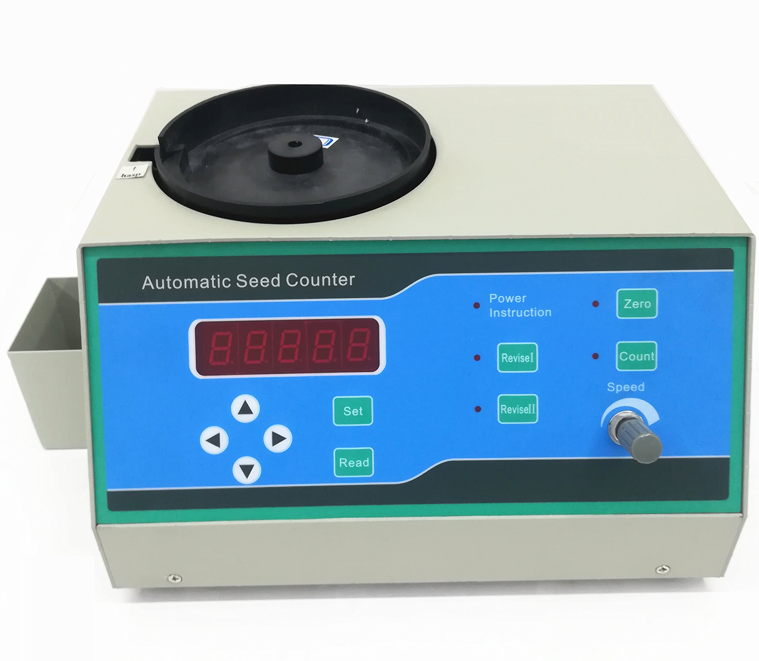 CGOLDENWALL Automatic Seeds Counter Machine for medium and Samall Shapes Seeds Special for small seeds as millet,rape seed,rice, wheat, seed, rape, vegetable, flower, tobacco by CGOLDENWALL (Image #3)