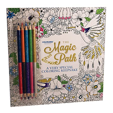 JML Colorama Colouring Books For Adult With Mystical Magical Designs