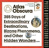 "Atlas Obscura Color Page-A-Day Desk Calendar 2019 [6"" x 6"" Inches]"