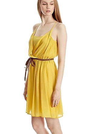 Mango kleid gelb gestreift