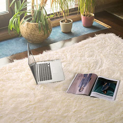 Delxo Ultra Soft Fluffy Area Rugs